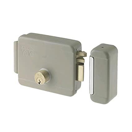 Cerradura eléctrica de sobreponer para puertas Art. 680 con pestillo azionabile retraído externo y retraído