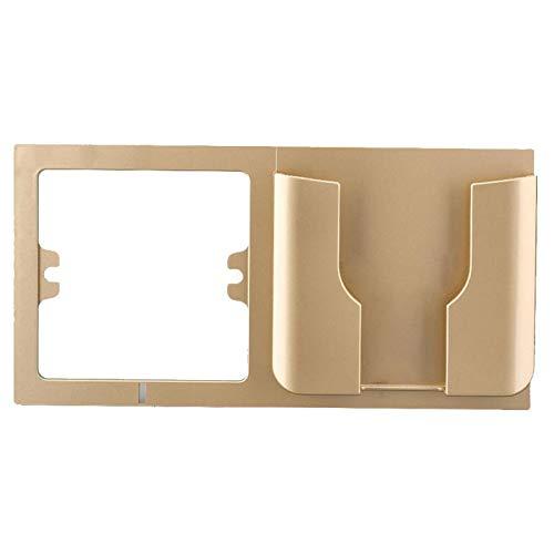 SaveStore Universal Wall Phone Holder Anti-Slip Charging Holder Socket Charger Storage Box Bracket Mobile Phone Wall Stand Mount