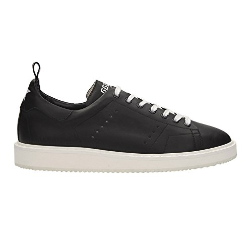Black Men's Goose A4 A4 GCOMS631 Col Starter Sneakers White Golden Y5AqB