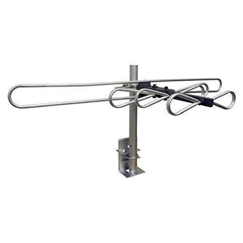 GE Attic Mount TV Antenna, Indoor, Long Range Antenna, Digital, HDTV Antenna, 4K 1080P VHF UHF, Compact Design, 32647
