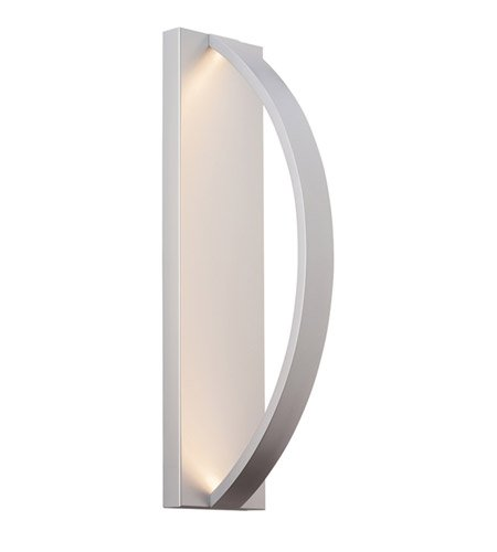 LBL OD819SILEDW Hunter 24 Outdoor Wall Sconce