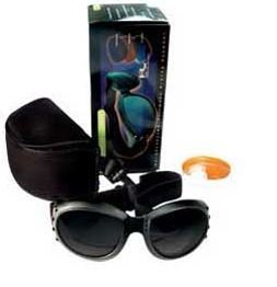 Bobster Cruiser 2 Goggles - Motorcycle Goggles Cruiser II [Black]