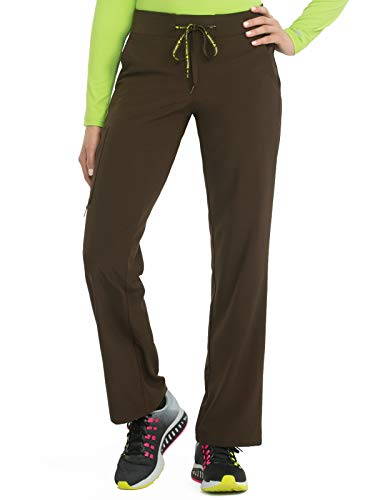 Med Couture Activate Women's Yoga Transformer Scrub Pant Chocolate SP