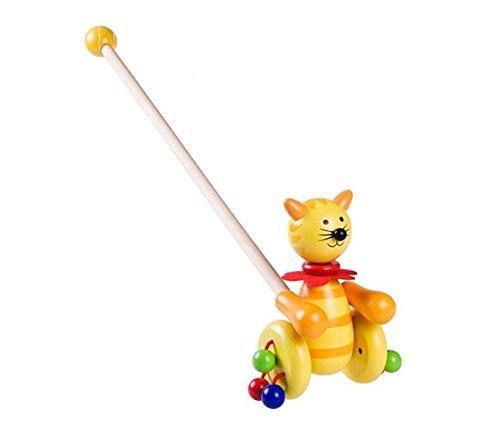 Un article parfait parfait parfait Cartoon Toy Toy Beetle pousser le long jouet pour bébé (rouge  bleu) | Service Supremacy  06cef7