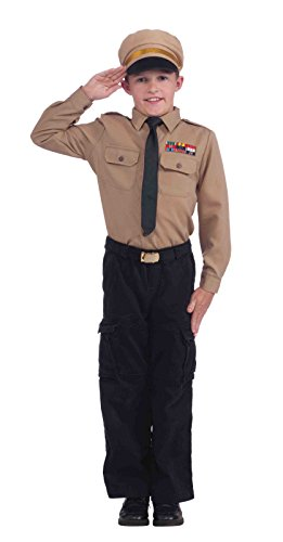 Forum Novelties Army General Instant Child Costume Kit, Medium