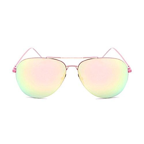 XFIERY SG800027C5 Fashionable PC Lens Metal Sunglasses,Metal Frames - To How Frame Fix Glasses Metal Broken