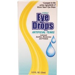 New World Imports ED5 Artificial Tears Eye Drop, 0.5 oz. (Pack of 48)