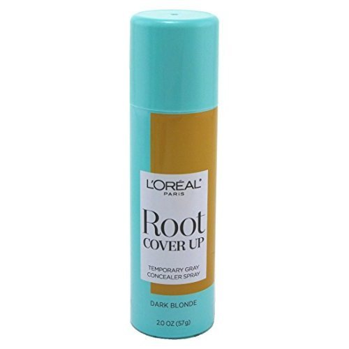 Loreal Root Cover Up Spray Dark Blonde 2 Ounce (59ml) (6 Pack)