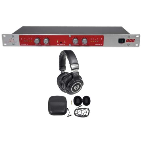 (BBE 882I Professional Studio Sonic Maximizer Signal Sound Processor+Headphones )