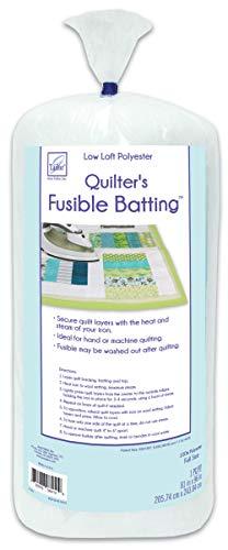 - June Tailor Quilt Low Loft Fusible Batting, 81 x 96-Inch/Full