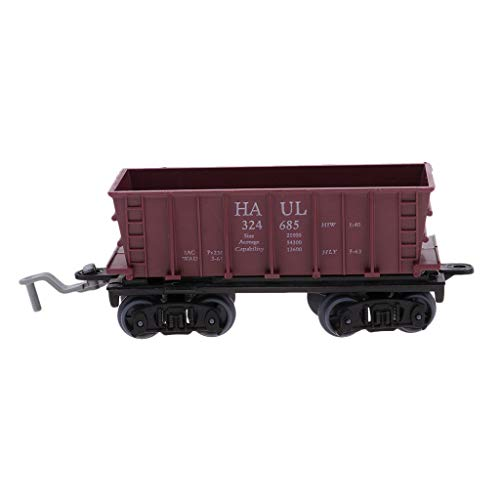 in Carriage Model HO Gauge for Sand Table or Home Decoration - Load Coal ()