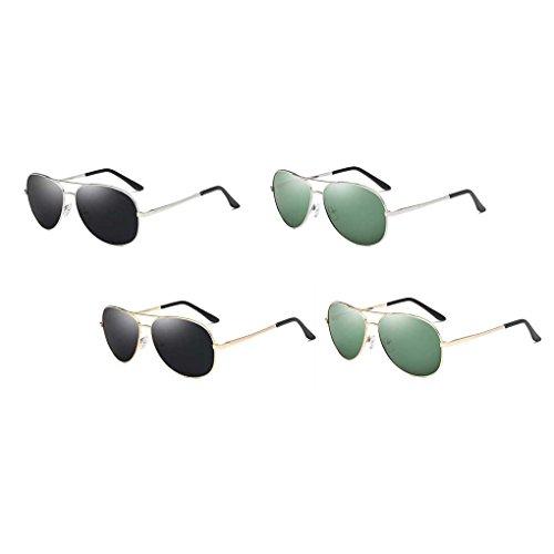Frame Metal Hombres Sol Solar Protector Pesca Gafas Providethebest Conducción Sol Eyewear 7 de polarizadas Coolsir Ligero de de Gafas piloto Retro Cq5wnnHaW