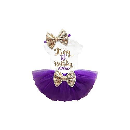 MUZIBLUE 1 Year Baby Girl Dress Princess Girls Tutu Dress Toddler Kids Clothes Baby Baptism Vestido,as picture11,12M ()