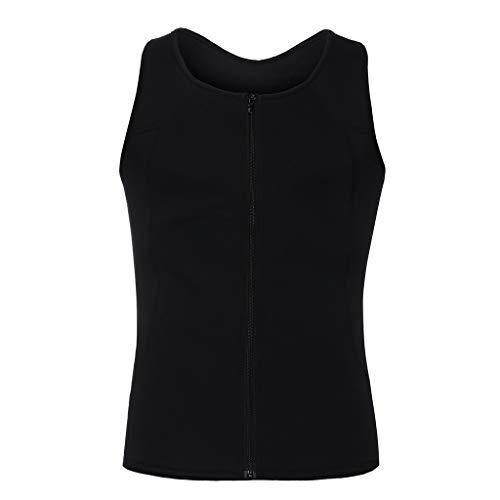 Clearance! DDKK Mens Neoprene Sauna Vest Extreme Compression Shirt Body Shaper Slimming Vest Elastic Slim Muscle Tank Shapewear Body Shaper Sweat Shirt