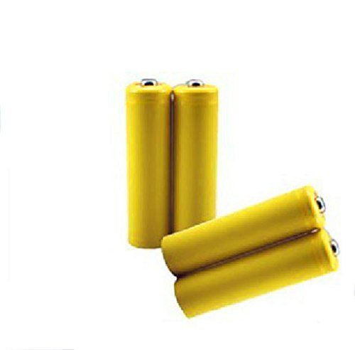 theeasyhomelife AA Size Hot Dummy Fake Battery Setup Shell, (4-Pack) (Shell Spacer)
