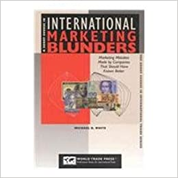 A Short Course In International Marketing Blunders Paperback October 25 2001