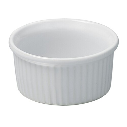 Revol Grands Classiques White Porcelain 2.75 Ounce Ramekin, Set of 6 by Revol