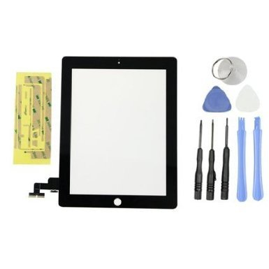 Dannemann Replacement Touch Screen Display Glass Digitizer For iPad 2 2G Black