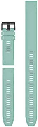 Garmin QuickFit 26 Watch Bands, Spearmint Silicone (3-piece Set)