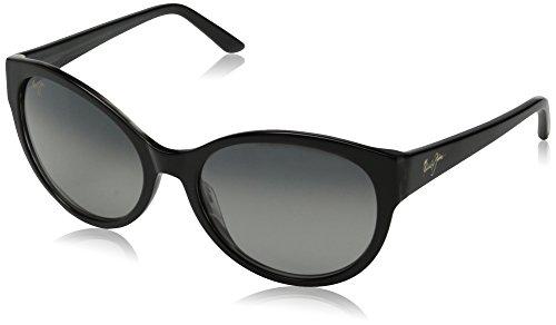 Maui Jim Venus Pools Polarized Sunglasses - Women's Black with Charcoal Interior / Neutral Grey One - Vintage Maui Jim