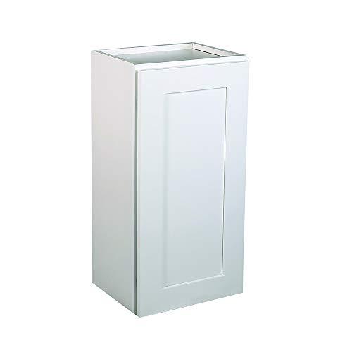 Design House 561696 Brookings 15-Inch Wall Cabinet, White -