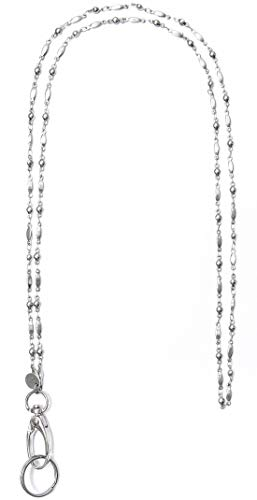 Hidden Hollow Beads Women's Strong Lanyard Non Breakaway - Stronger (Stainless Steel)