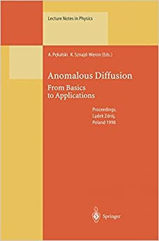 Book Anomalous Diffusion (Lecture Notes in Physics)