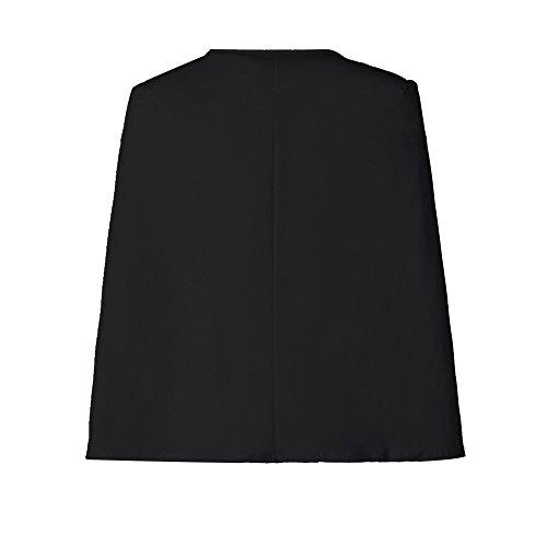 Manches Blazer Manteau Unie Châle Slim En Top Mode Paragraphe Couleur Et Yebiral Court Coupe V La Nouveau Femmes Noir Automne Longues Col Hiver Veste fwnRU84qR