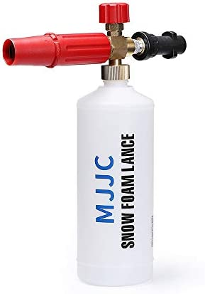MJJC Snow Foam Lance for Karcher HDS Pro Models Karcher HD Model with M22 Female Thread Adapter Colorless