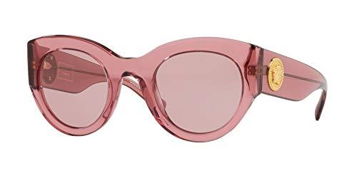 Versace Womens Sunglasses Pink/Purple Acetate - Non-Polarized - ()