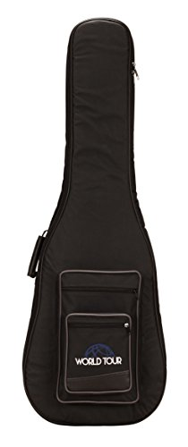 World Tour Deluxe 20mm Bass Guitar Gig Bag ()