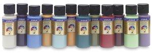 Chroma's Jo Sonja Potting Shed Color Collection, 2 oz Bottle, Multiple Color, Set of 12