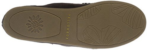 Big-slip-on Mocassino Da Donna Giallo Box Marrone