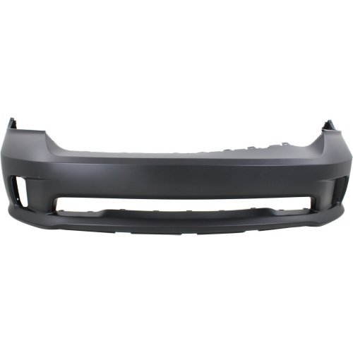 Front Bumper Cover Compatible for RAM 1500 P/U 2013-2018 Primed 1 Piece Bumper All Cab - Piece Bumper 1 Front