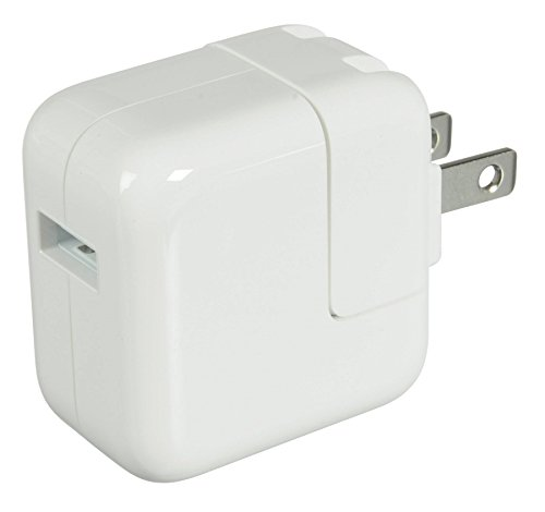 Apple AC 10W Charger Adapter Cube for Apple iPad, iPhone, iPod, and any other USB chargeable devices by Apple
