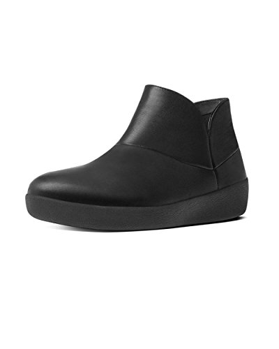 Ii Mujer Ankle 090 Supermod black Fitflop Boot Botines Para Negro 5BYUwxPq