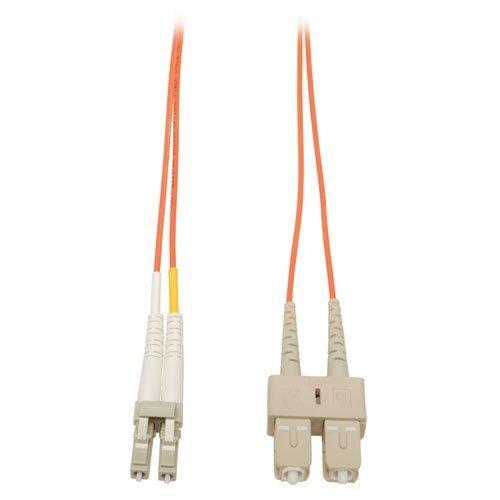 Tripp Lite Duplex Multimode 62.5/125 Fiber Patch Cable (LC/SC), 10M (33-ft.)(N316-10M)
