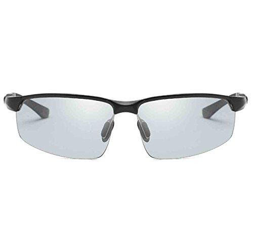 Sol De Antideslumbrantes Clásicas Conductor Descolorados Polarizadas Gafas De Del De Gafas Hombres 2 Inteligentes Los De Sol Los Vidrios pxfq88w45