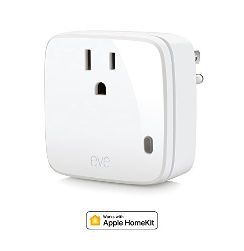 Eve Energy - Smart Plug & Power Meter, switch a connected device on and off, voice control, no bridge necessary, Bluetooth Low Energy (Apple HomeKit)