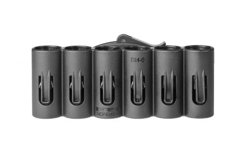 Fab Defense black SH-6 SH 20 gauge 6 shotgun shell holder MOSSBERG 500 PISTOL Shotgun Shot gun By Fab Defense + Best Security Gear Magnet