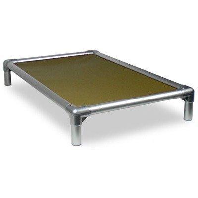 Kuranda - Cama para perro de aluminio (plateada) - XXL (50 x 36) - Cordura - caqui por Kuranda: Amazon.es: Productos para mascotas