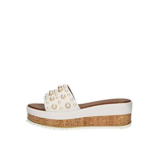 Femme Sandales 8824 8824 Inuovo Femme Blanc Blanc Inuovo Sandales SzdOqx