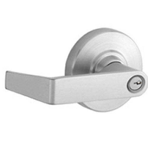 Schlage ND80PDEU RHO 626 24V Electrically unlocked, Storeroom Lock (Classic Schlage C cylinder included), Satin Chrome Finish by ACSI