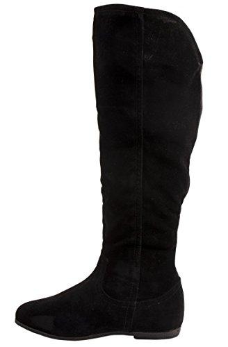 Botas Material negro de Elara Negro mujer Sintético para aTZAqw6x
