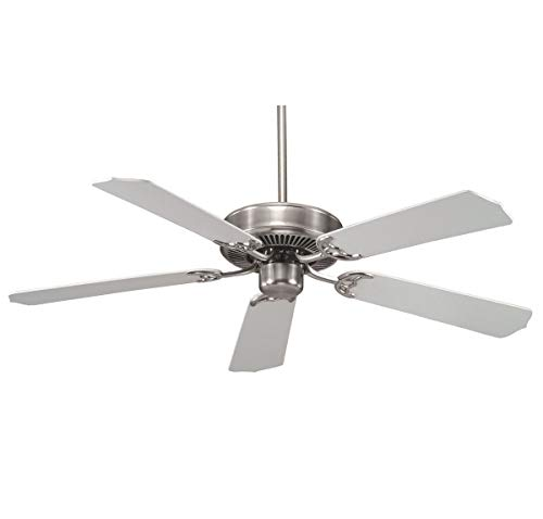 Savoy House 52-FAN-5W-SN Builders Specialty 52 Inch Ceiling Fan, Satin Nickel