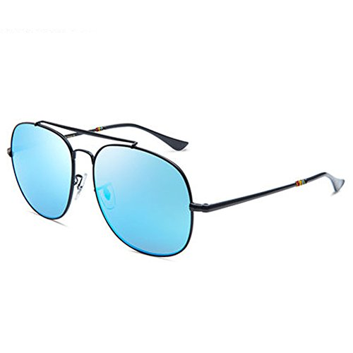 Men's and women's sunglasses men's sunglasses couple glasses new driving glasses personality frog eyes polarizer,E by ZY Sunglasses