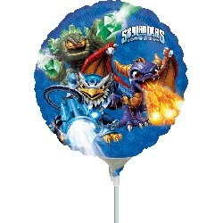 """9"""" Airfill Only Skylanders Group Balloon"""