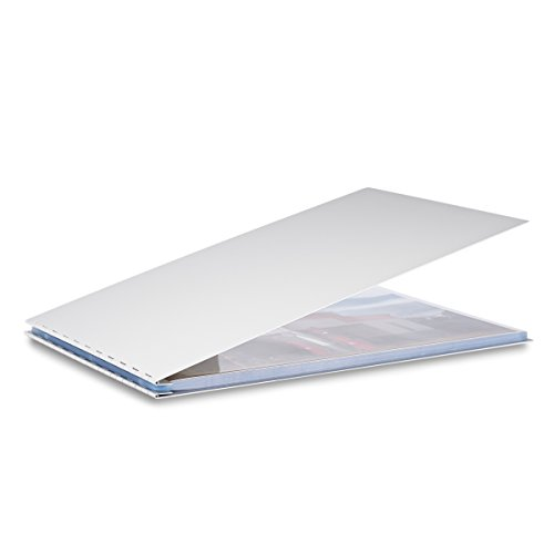 Pina Zangaro Machina Screwpost Binder, 11x14 Landscape, Includes 20 Pro-Archive Sheet Protectors (34049) by Pina Zangaro