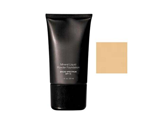 Beauty Deals Mineral Liquid Powder Foundation Broad Spectrum SPF 15 (Vanilla Cream) - Liquid Vanilla Foundation