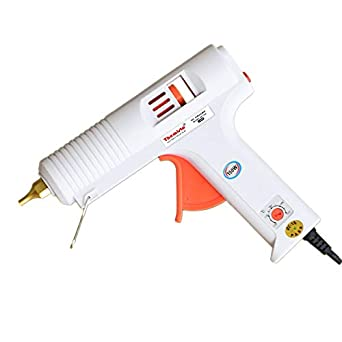 Themisto - Built With Passion 150W Multi Temperature High Power Hot Melt Glue Gun With Sticks (5 Pcs)